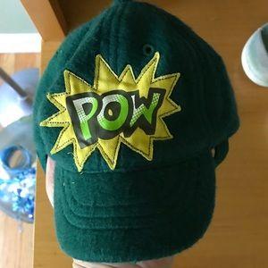 Green Wool Baby Baseball Cap